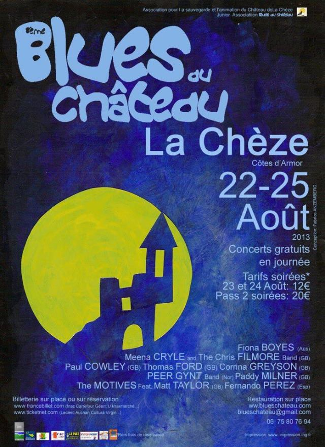 Blues au Chateau poster