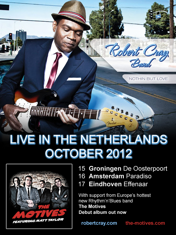 The Motives support Robert Cray Band Netherlands 2012